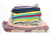 A stack of clothes — Stock Photo