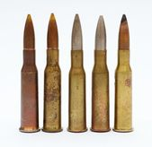Old bullets — Stock Photo