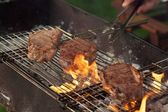 Meat of grill — Stock Photo