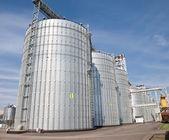 农业谷物升降机 — 图库照片