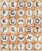 """Chocolate Alphabet"" — Stockfoto"