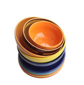 Pile of bright ware. — Stock Photo