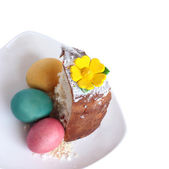 Rest of the Easter Easter cake. — Stock Photo