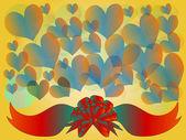 Circles and hearts 2 — Foto de Stock