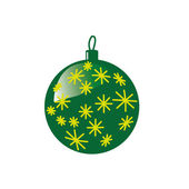 Аn ornament for the Christmas tree — Stock Photo