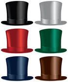 Top hat — Stock Vector