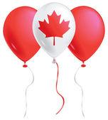 Canada balloons — Stock Vector