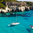 CalMacarellbeach in Menorca, Spain — Stock Photo #18379403