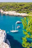 Cala Galdana beach in Menorca, Spain — Stock Photo