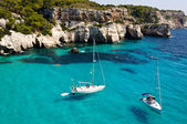 Cala Macarella beach in Menorca, Spain — Stock Photo