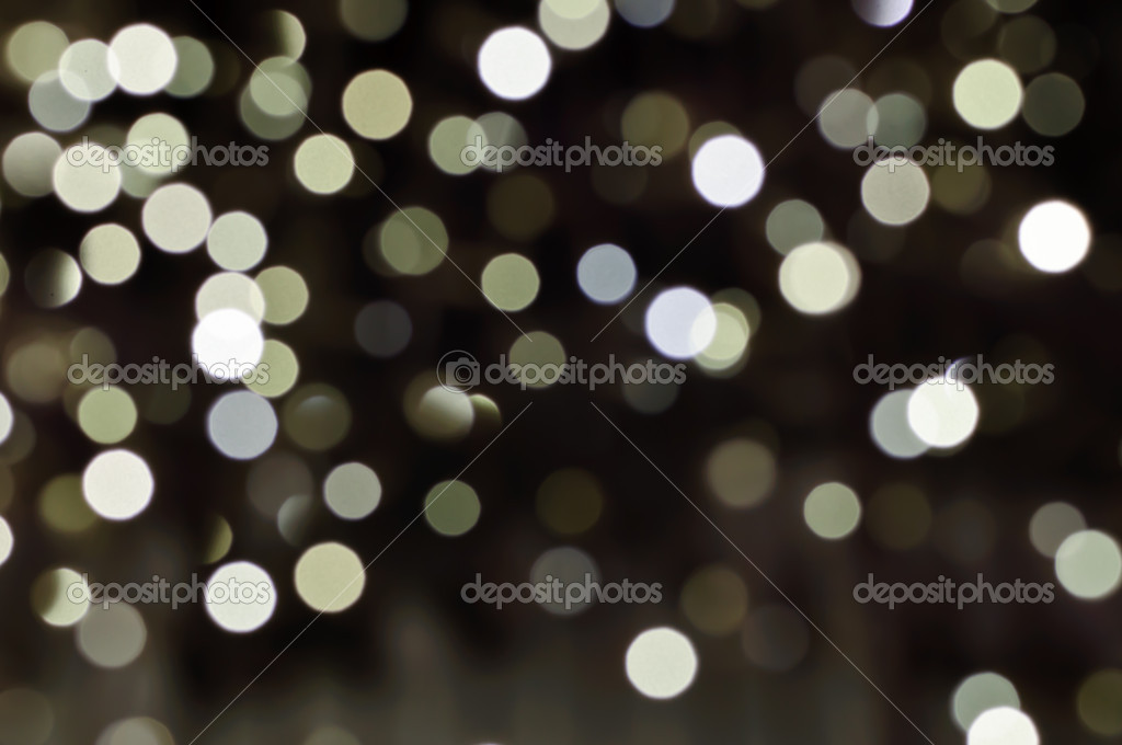 Defocused abstract christmas background, out of focus light spots forming a soft background — Stock Photo #18379169