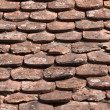 Stock Photo: Old roof tiles