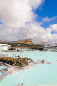 Blue Lagoon - famous Icelandic spa and Geothermal plant — Stock Photo