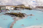 Blå lagunen - kända isländska spa och geotermiska anläggningen — Stockfoto