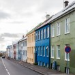 Colorful houses, Reykjavik, Iceland — Stock Photo #38350209