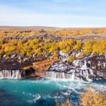 Hraunfossar waterfall, Iceland — Stock Photo #38505433