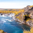 Hraunfossar waterfall, Iceland — Stock Photo #38505629