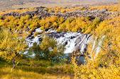 フロインフォッサル滝、アイスランド — ストック写真