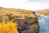 Hraunfossar waterfall, Iceland — Stock Photo