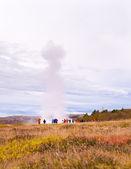 Strokkur geysir in Iceland — Stock Photo