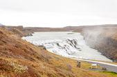 Gullfoss waterfall on Hvita river - Iceland — Stock Photo