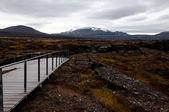 Thingvellir national park, Iceland — Stock Photo