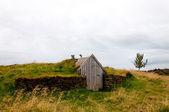 Oude shack in ijsland — Stockfoto