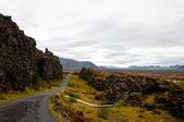 Parque Nacional de Thingvellir, Islândia — Fotografia Stock
