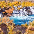 Hraunfossar waterfall, Iceland — Stock Photo #38729029