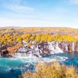 Hraunfossar waterfall, Iceland — Stock Photo #38729169