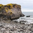 Icelandic beach with black lavrocks, Snaefellsnes peninsula, Iceland — Stock Photo #38729485