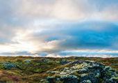 İzlandalı yataygullfoss Şelalesi — Stok fotoğraf