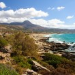 Falassarna, one of the most beautiful beaches of Crete , awarded as the best in Europe — Stock Photo #41058395