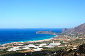 Amazing view over the bay of Falassarna, Crete island, Greece — Stock fotografie