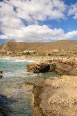 Falassarna, jednej z najpiękniejszych plaż Krety, nagrodę za najlepszy w Europie — Zdjęcie stockowe