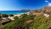 Falassarna, une des plus belles plages de Crète, récompensé comme le meilleur en europe — Photo