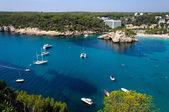 Cala Galdana beach, Island of Menorca, Balearic Islands, Spain — Stock Photo