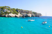 Cala Macarella bay, Island of Menorca, Balearic Islands, Spain — Stock Photo