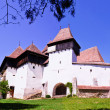 The Fortified Church from Viscri village, Transylvania, Romania — Stock Photo