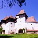 The Fortified Church from Viscri village, Transylvania, Romania — Stock Photo
