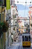 Ascensor da Bica in Lisbon, Portugal — Stock Photo