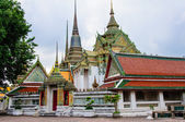Wat Pho or the Temple of Reclining Buddha in Bangkok, Thailand — Stock Photo