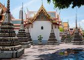 Wat Pho, the Temple of the Reclining Buddha in Bangkok, Thailand — Stockfoto