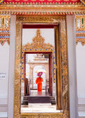 Wat Pho, the Temple of the Reclining Buddha in Bangkok, Thailand — Stock Photo