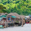 Koh Kood Island, Thailand - May 26, 2014: View of Baan Ao Salad port and fishing village on Koh Kood Island, Thailand — Stock Photo #49671117