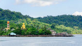 Koh Kood Island, Thailand - May 26, 2014: View of Baan Ao Salad port and fishing village on Koh Kood Island, Thailand — Stock Photo