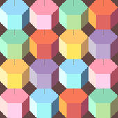 Vector background colorful rhombus — Vector de stock