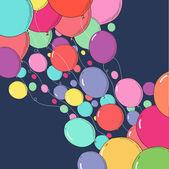 Ballon-hintergründe — Stockvektor