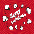 Merry Christmas backgrounds, vector illustration  — Imagen vectorial