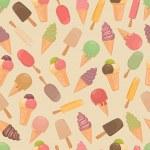 Ice cream. — Stock Vector